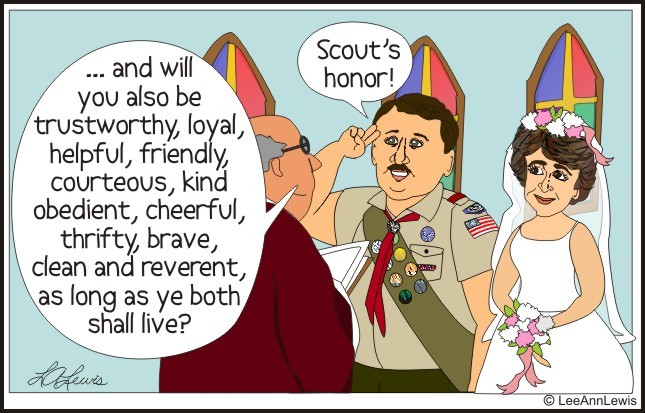 The Boy Scout Husband