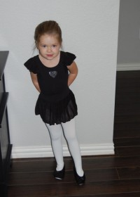 My ballerina granddaughter, Avery