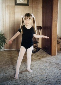My own little ballerina, Lauren